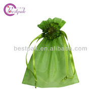 drawstring organza gift bags fancy with ribbon