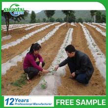Custom 0.01-0.1mm thickness free sample white or transparent plastic mulching film for agricultural
