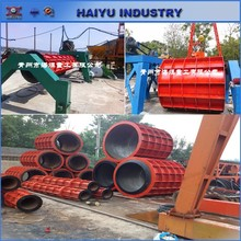 Automatic Suspension Roller concrete pipe machine and mould