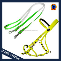 bridle halter and rubber grip reins