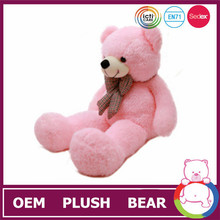 2015 customized giant pink teddy bear big bear doll