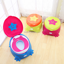Star Leakproof Child Pot Training Unisex Kids Folding Baby Toilet Seat Children's Potty Portable Children's Pot Potty Chair