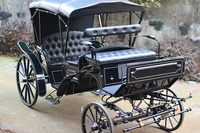 Electric battery power Cinderella horse drawn wagons for sale
