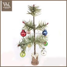 Artificial mini christmas tree decoration