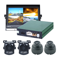 Factory Direct 4ch cctv mobile dvr for police car