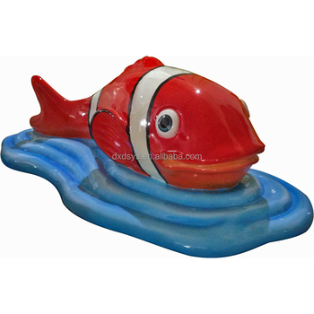 Soft PU Playground Fish