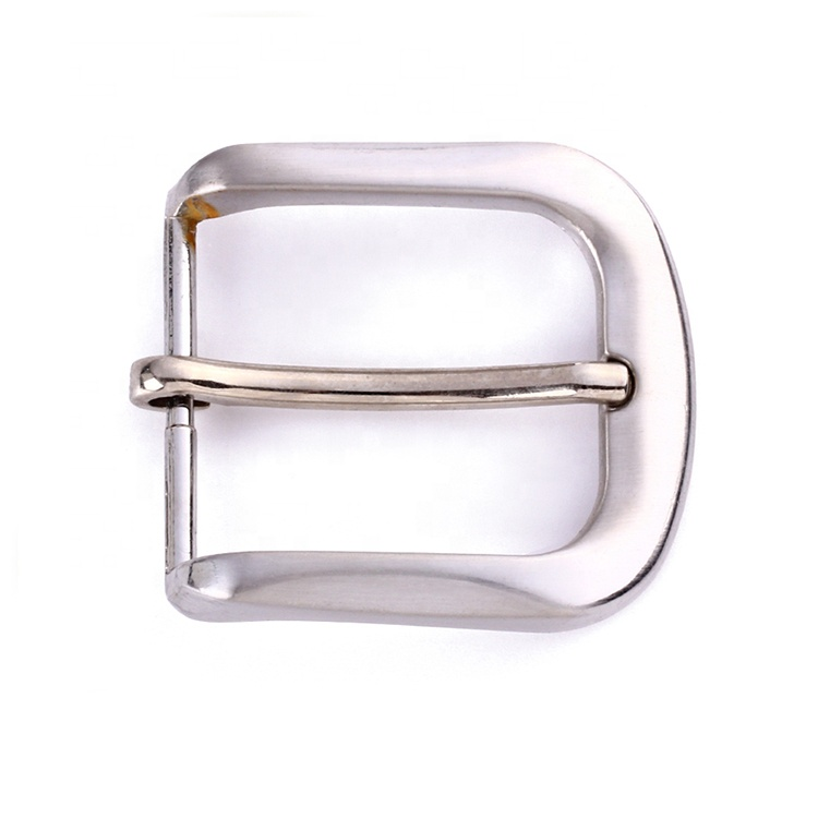 Wenzhou KML Factory Supply Small Silver Pin Zinc Alloy Belt <strong>Buckle</strong>