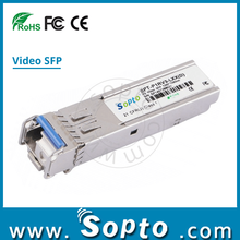 Fiber Transceiver 3G Video SFP Single Rx PIN photodetector 40km 3G Video Module