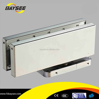2015 security hardware glass door product floor hinge easy install glass fitting