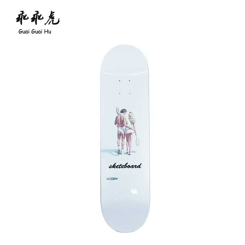 Hot 9 ply Canadian/Chinese maple blank longboard skateboard longboard deck Wholesale