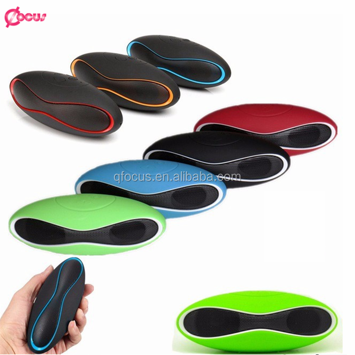 High quality Small rugby youtube speaker phone portable bluetooth wireless speaker with powerful