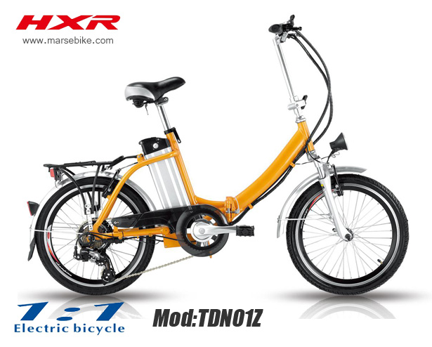 20'' rear wheel motor electric bicycle