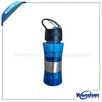 plastic transparent travel mug