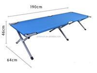 Canopy folding aluminium sun beach bed