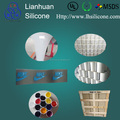 Flexible soft Silicone ink for coated fabric and textile printing