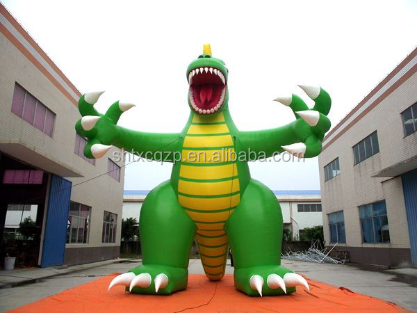 giant inflatable dinosaur for advertising