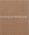 Interior wood wall MDF sheet! Veneer MDF wall board! Embossed MDF panel!