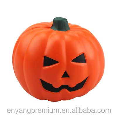 New Wholesale PU Foam White Foam Craft Pumpkins PU Stress reliever ball Slow rising squishy