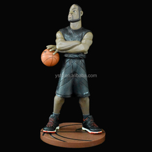 Wonderful collectible NBA basketball palyer sportman custom made PVC action figure toy
