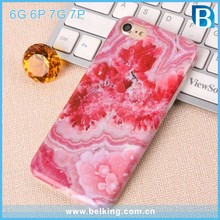 2017 Wholesale TPU Marble Stone Pattern Mobile Phone Case For iPhone 7/For iPhone 7 Plus Marble Cover Case