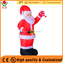 Fashion Christmas Plush penguin Inflatable large outdoor christmas lights