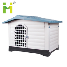 Plastic factory direct outdoor dog kennel designs double large dog kennel