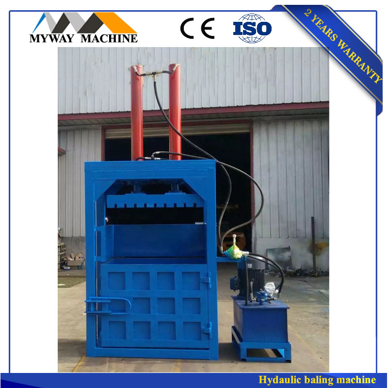CE China factory made high quality used tire baler/used tyre baler