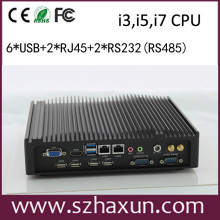 Aluminum Industry PC with WIFI,3G,GPIO,RS485