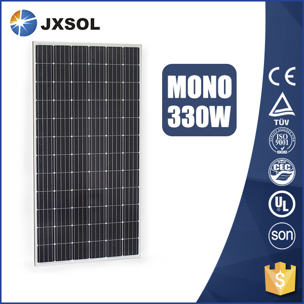 China photovoltaic module 100W Monocrystalline price per watt solar panels For big project