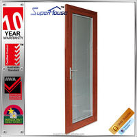 Superhouse Top quality timber grain lowes french doors exterior manufacturer