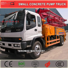 ISUZU Truck, 25m, 29m, 33m Small Concrete Pump Truck, Truck Boom Pump for sale with Top Quality in China