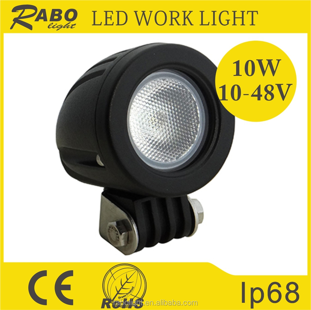 loncin 250cc atv parts 10w mini led work lights led fog lamp