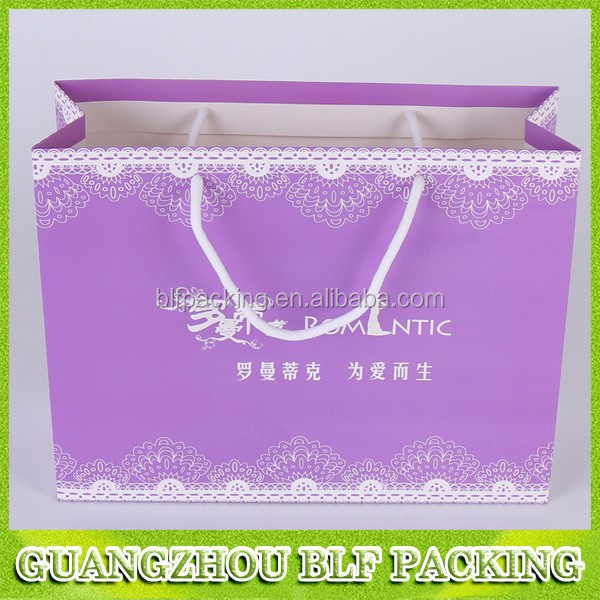 (BLF-PB1220)paper t shirt packaging bag