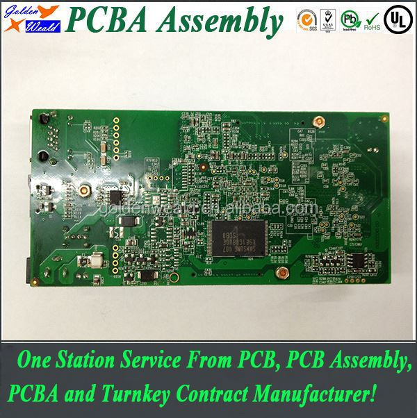 access control 94v0 pcb with immersion gold water heater pcba