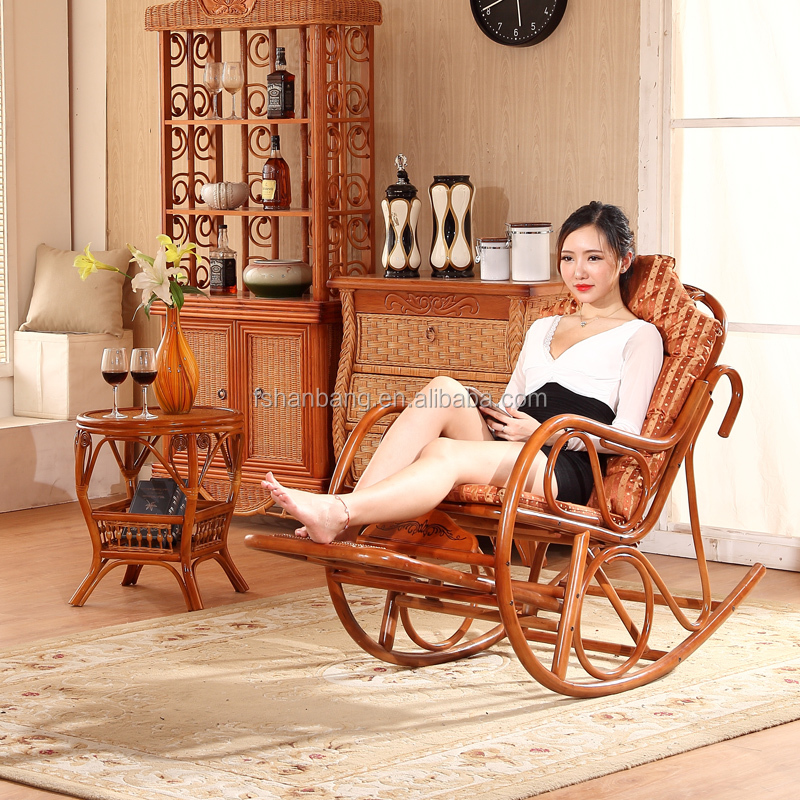 Stock Foot Massage Flat Pack Cane Wood Rattan Antique