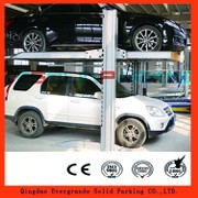 High reputation factory direct supply portable mini car parking system with extended balancing chain 2 post car lift