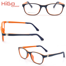Bright color glasses kids flexible plastic optical frame