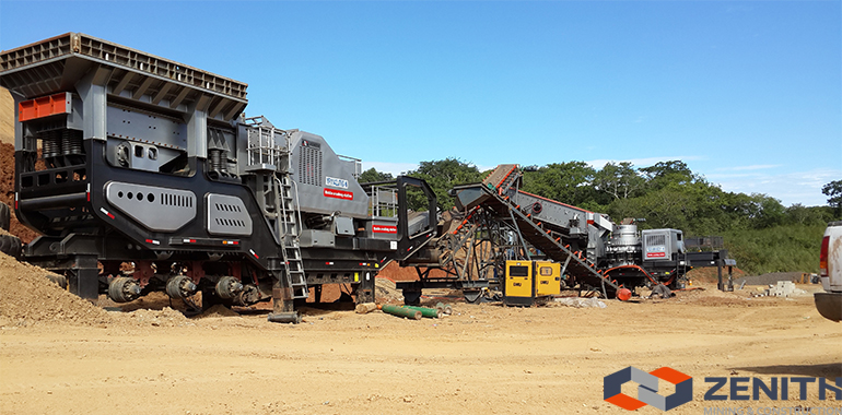 Mobile Crushing Plant, mobile impact crushing plant