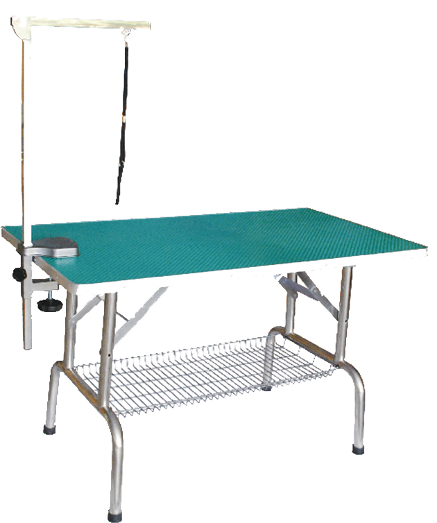 Dog Grooming Table foldable Arm and Clamp Pet Grooming Table with Grooming Noose N-301D
