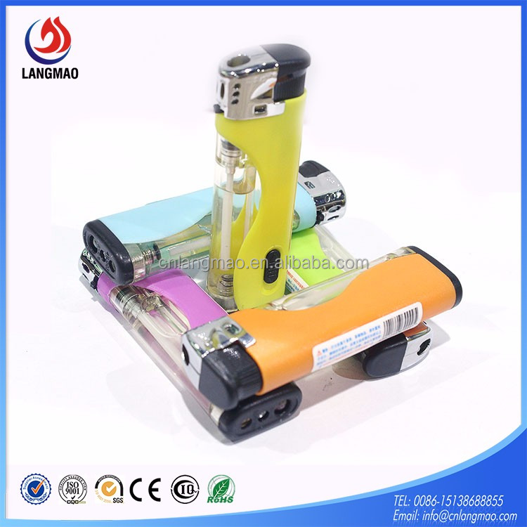 Latest design high quality cigarette lighter gas refill