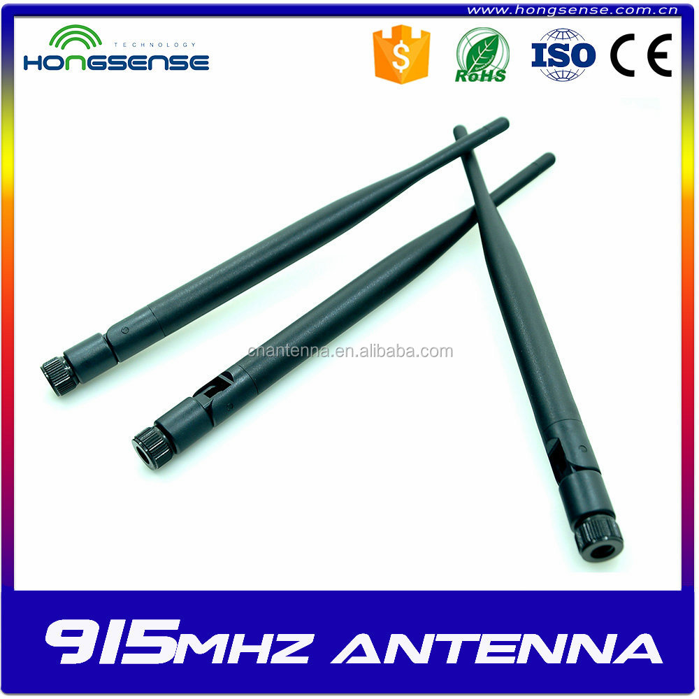 SMA Rubber Duck 5DBI Router Antenna External Whip 915mhz duck antenna / GSM Rubber Antenna
