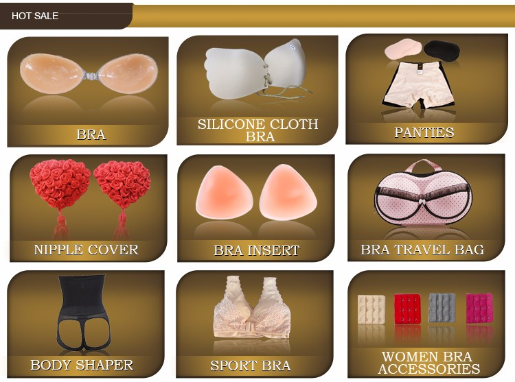 Wholesale custom adhesive invisible straple 100% silicone nipple pad sexy girl massage bra nipple cover for women manufacturer