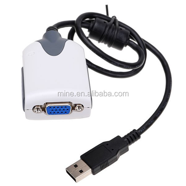 New USB 2.0 to vga adapter with high resolution