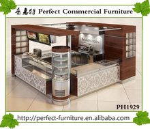 perfect fast food restaurant interior design crepe waffle kiosk with prepared room