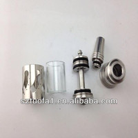 Custom stainless steel machining rebuildable atomizer for e-cigarette