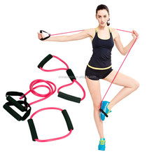 Latex Resistance Bands Kit Body Muscle Workout Chest Arm Leg Stretching Exercise Pull Up Resistance Bands Pull Ropes