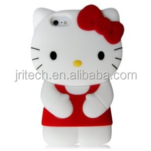 OEM/ODM cheap 3D animal silicone mobile phone case cover