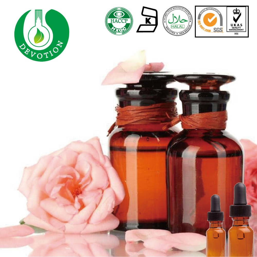 100% Pure Natural Rose Essential Oil Cosmetic Application Rose Oil