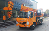 DLXQY3500 integrated hydraulic valve man lifting truck crane