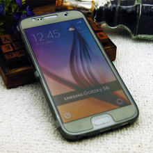 Fashion Slim Touch Screen Flip TPU Wrap Up Smart Phone Cover for samsung galaxy s6 tpu flip case alibaba china
